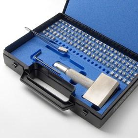 Slagstempel type sortiment kasse
