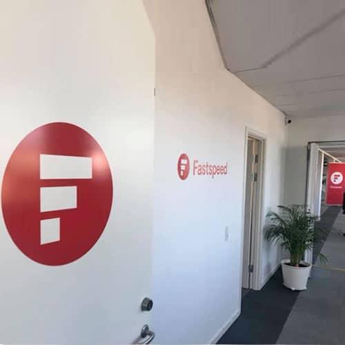 Skilte til kontor