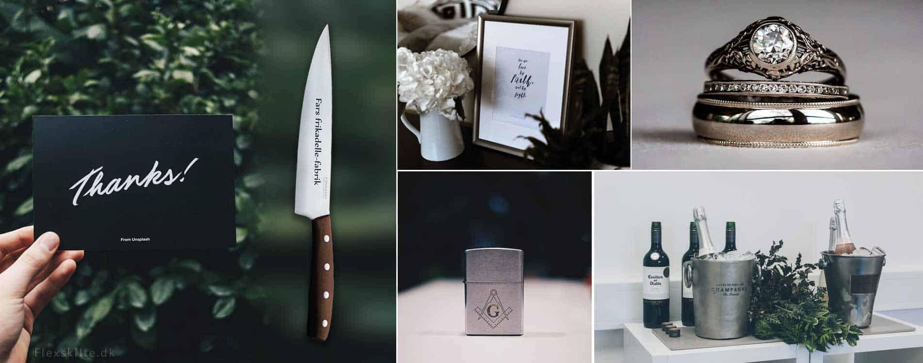 Engravering gaver eksempler