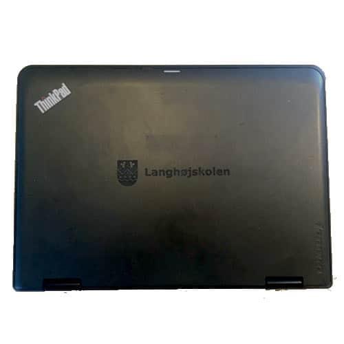 Engravering af skole bærbar computer