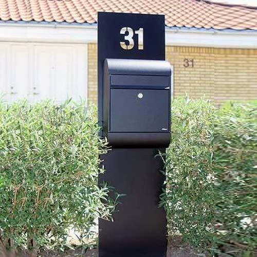 Postkassestandere stativer skilte